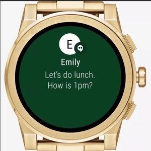 Other - Michael Kors Grayson smartwatch gold tone
